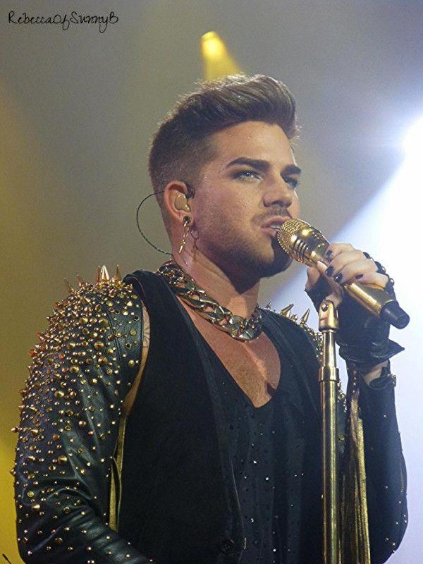 Adam Lambert close-up QAL Mohegan Sun 7/19/14