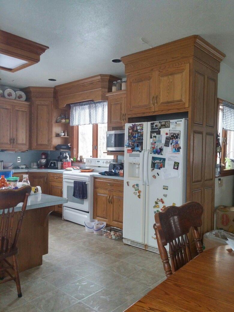 My dream kitchen...that my husband designed!
