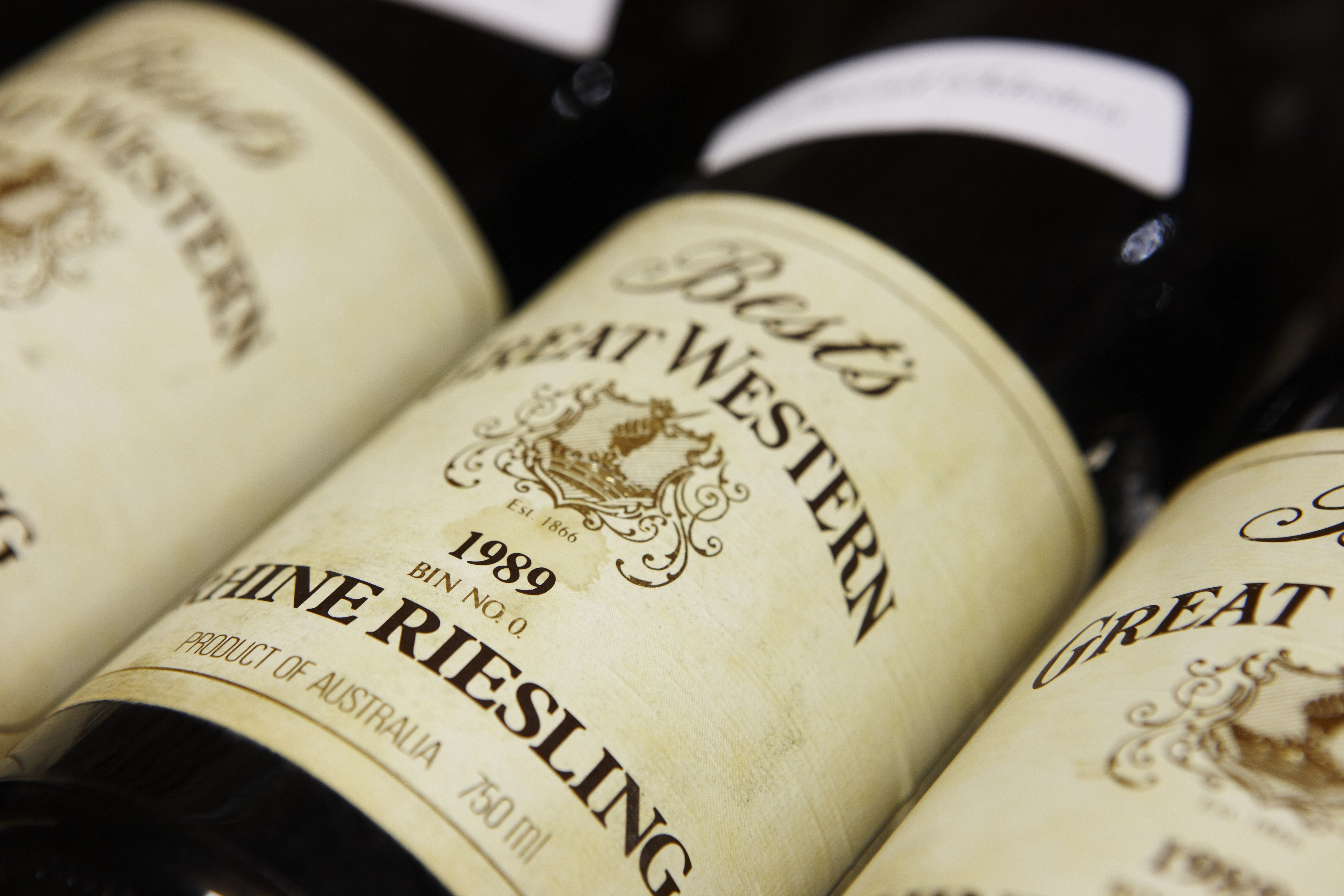 Our 1989 Rhine Riesling - as a Best's Imperial Wine Club member you often get access to these beautiful back vintage wines.