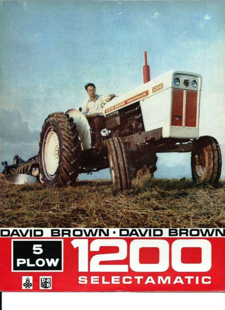 Classic Tractors For Sale : classic, tractors, DAVID, BROWN., SELECTAMATIC,, Sales, Brochure., Tractors,, Tractors, Sale,, Classic, Tractor