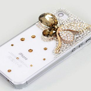butterfly crystal iphone case