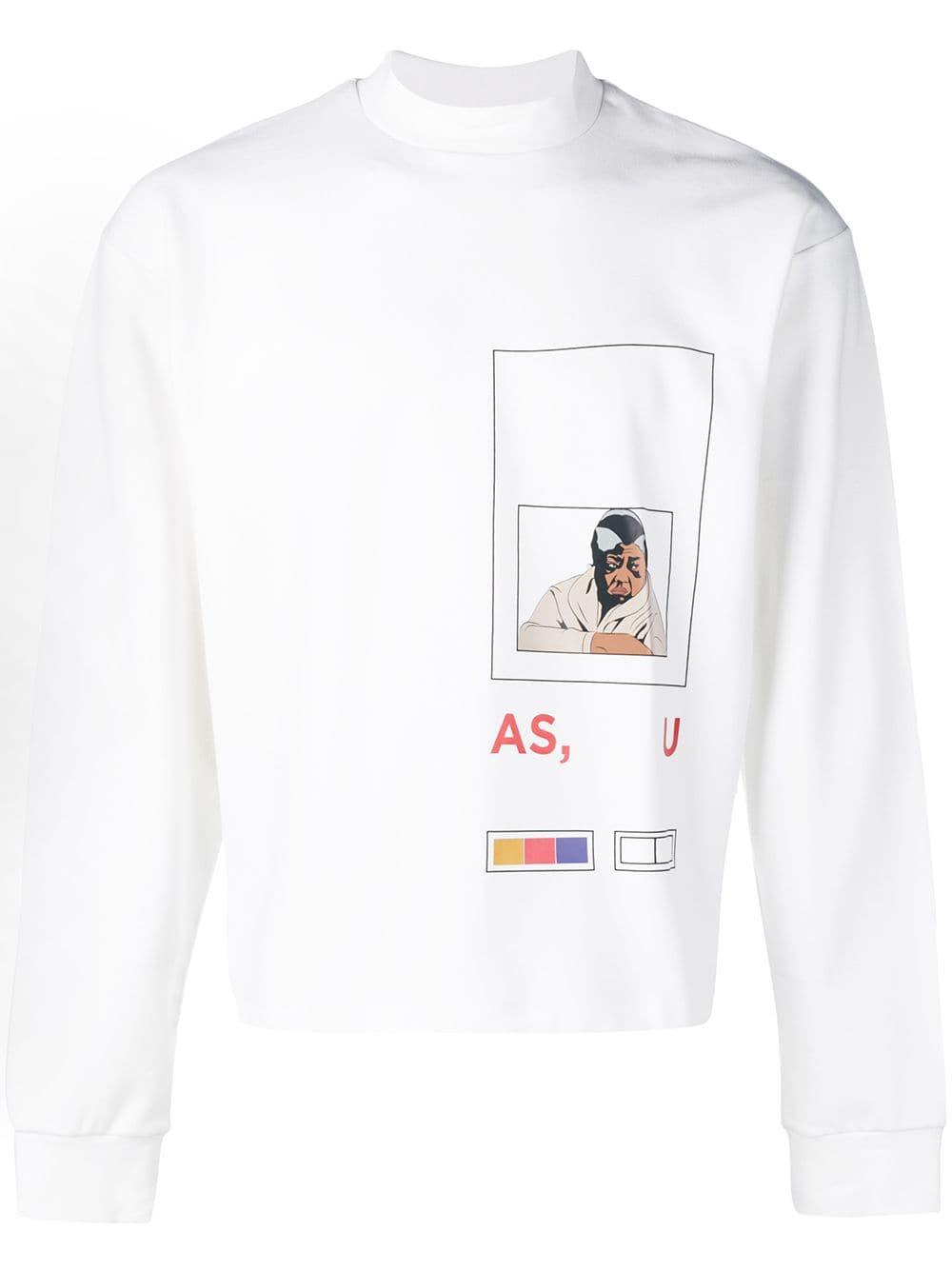 Pyer Moss Front Printed T Shirt Farfetch Print T Shirt T Shirt Moss Fashion [ 1334 x 1000 Pixel ]