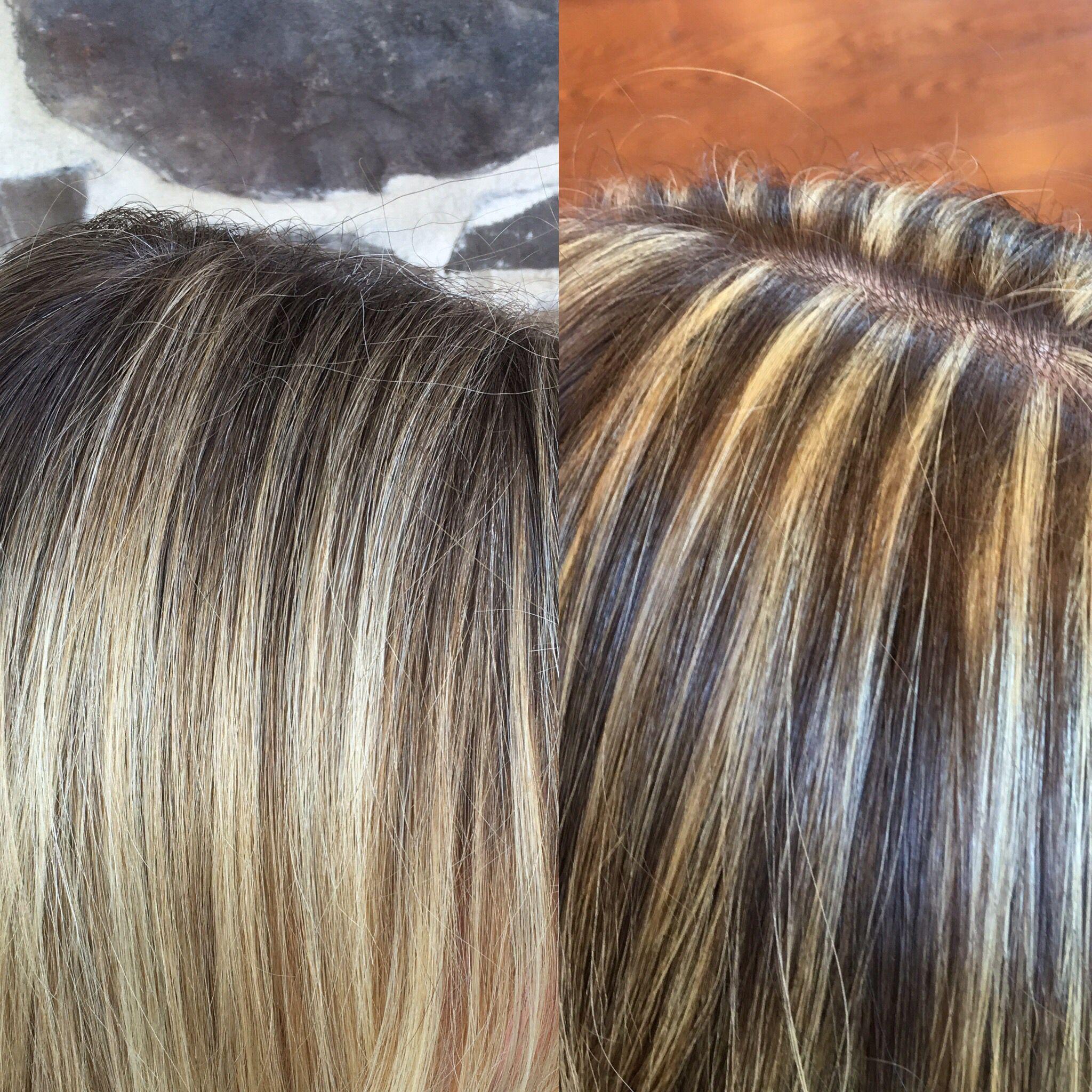Balayage Vs Foil Hilights Balayage Winter Blonde Hair Hair Painting