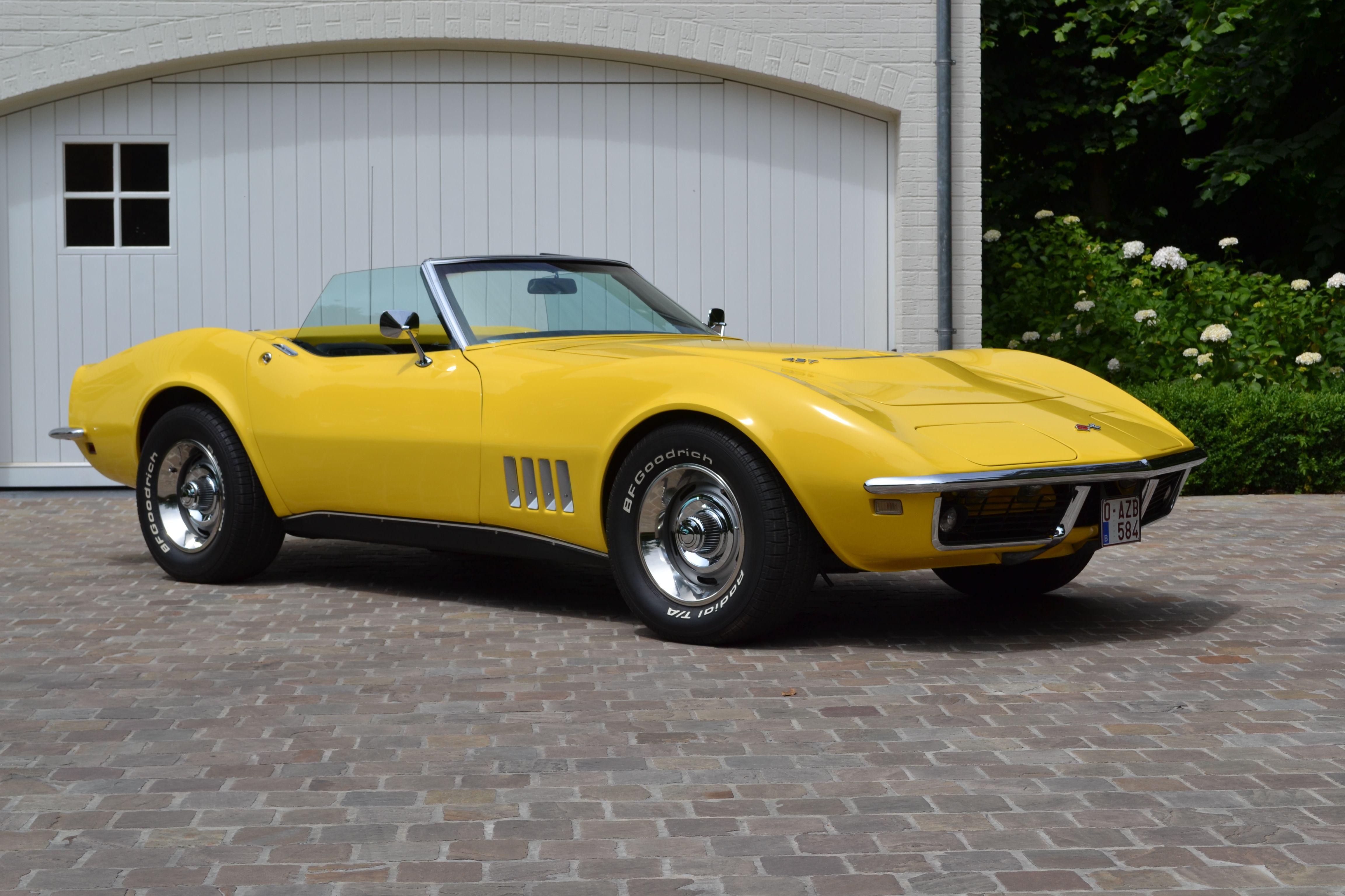 1968 chevrolet corvette stingray convertible 427 big block 400 hp