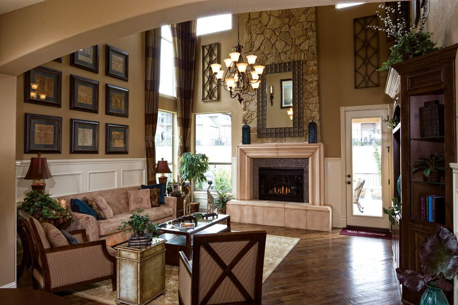 2 Story Great Room Decorating Ideas Part - 38: Toll Brothers - Balmoral Stunning 2-Story Great Room Maybe Doing The  Furniture A Little