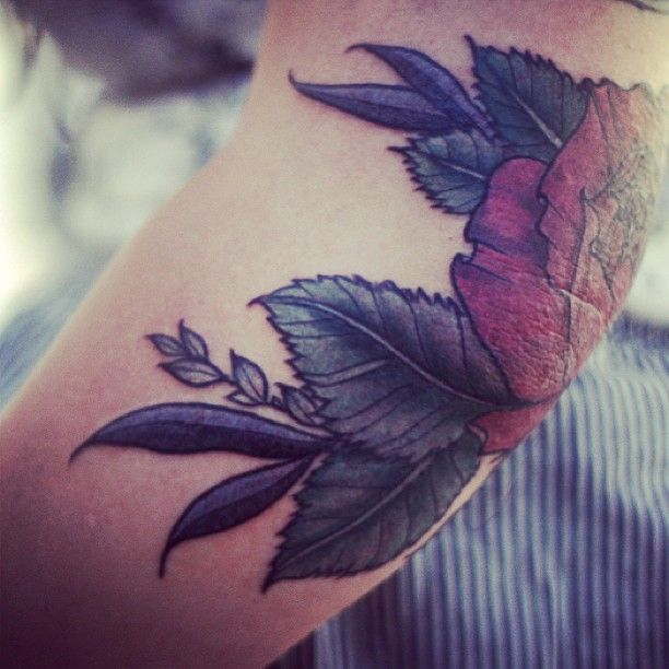 Rose. Alice Carrier with Anatomy Tattoo - Portland, OR. | Tattoos ...