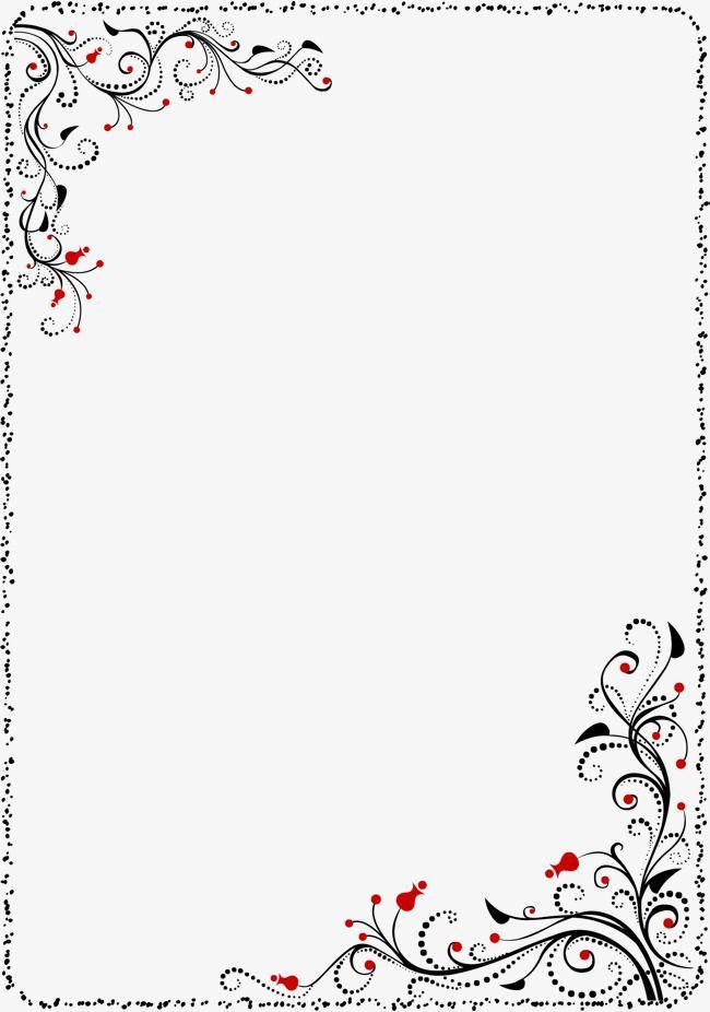 Simple Border Png And Clipart Clip Art Frames Borders Floral Border Design Flower Graphic Design