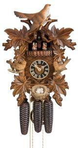 Cuckoo Clock<br>7 leaves, three birds, nest