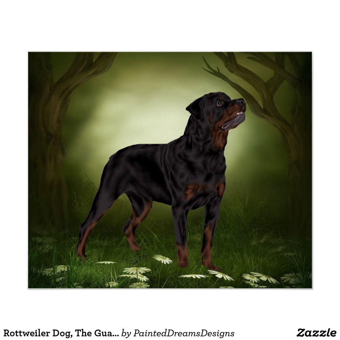 Rottweiler Dog The Guardian Poster Pinterest Rottweiler Dog