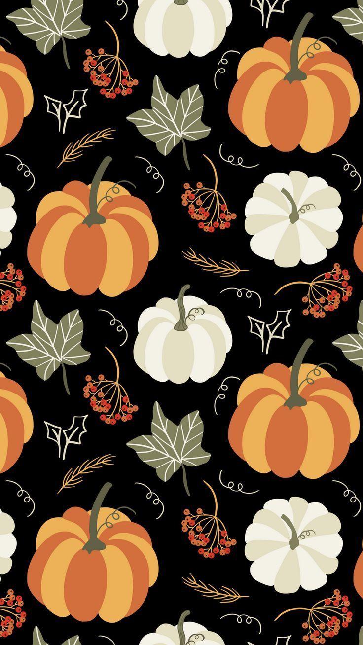 Pumpkin-Graphic-Smart-Phone-Wallpaper.png 1 080 × 1 920 Pixel #IphoneBackgroun ... Great pret...