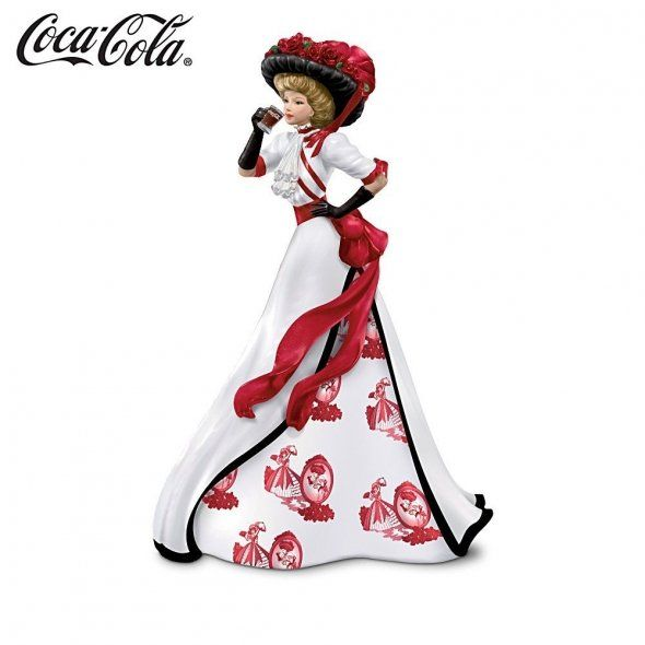 It's the real thing. Coca-Cola collectible figurine. Love the retro look!