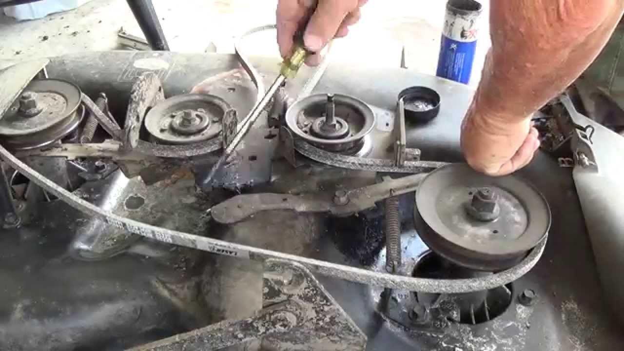 Another Craftsman Lt1000 42 Deck Belt Replacement Oil Change