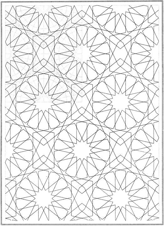 coloring pages patterns geometric solids - photo#21