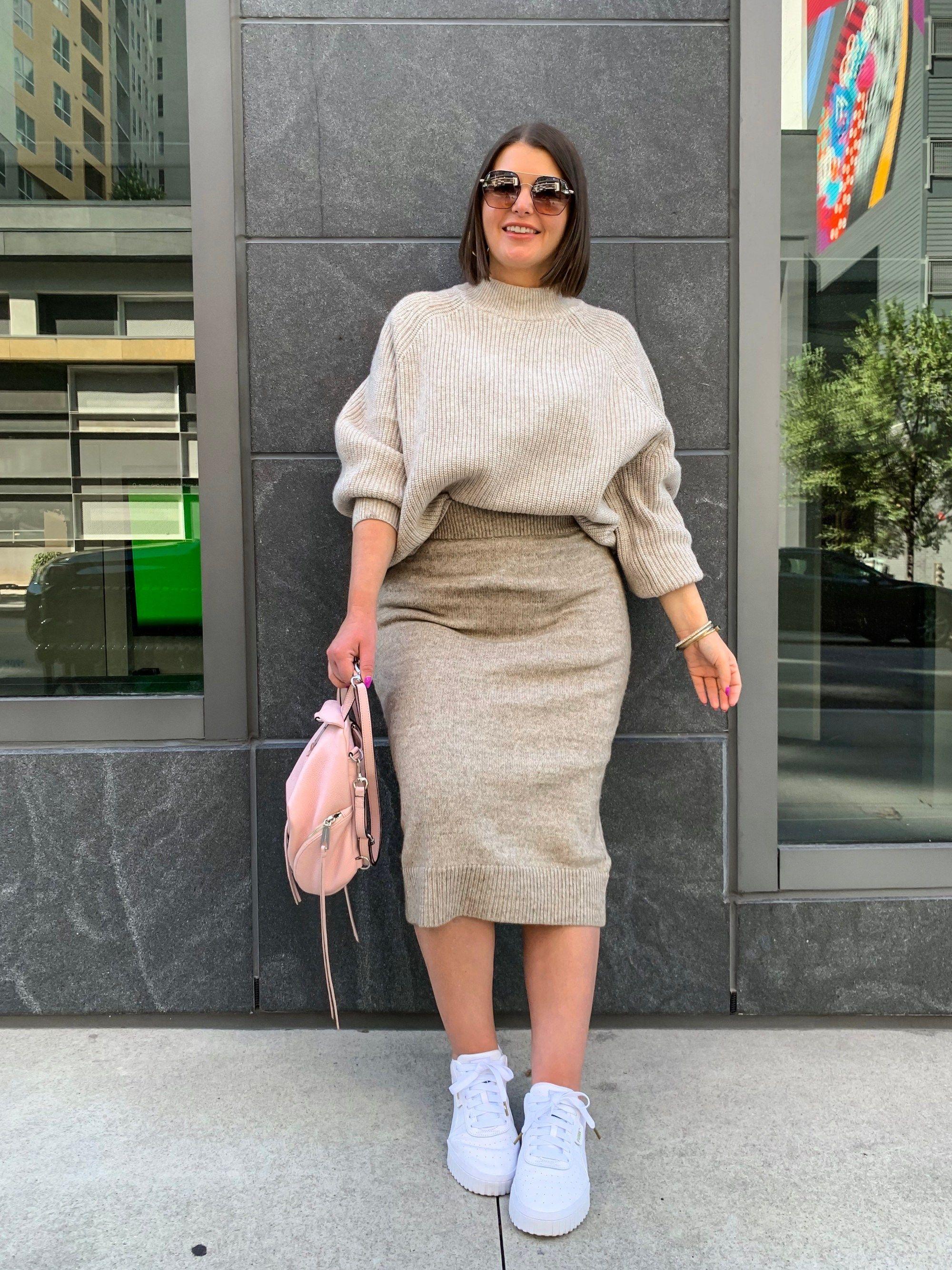 Fall Outfit Sweater Skirt Set Details Here Http Www Juliamarieb Com 2019 10 01 Sweater Skirt Set Julia Marie Sweater Skirt Set Fashion Curvy Girl Outfits [ 2666 x 2000 Pixel ]