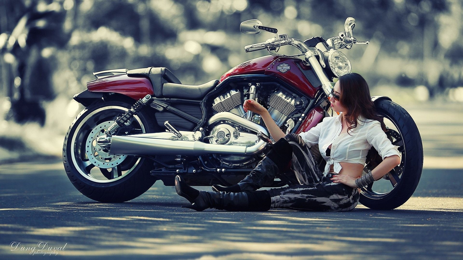 Description The Wallpaper Above Is Harley Davidson Girl In