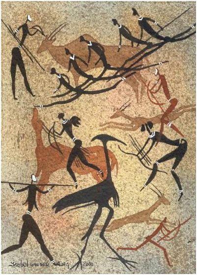 san rock art, africa | Ancient Art On Stone | Pinterest ...