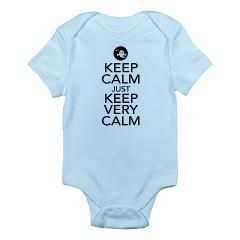 Keep Calm just Keep Very Calm Body Suit