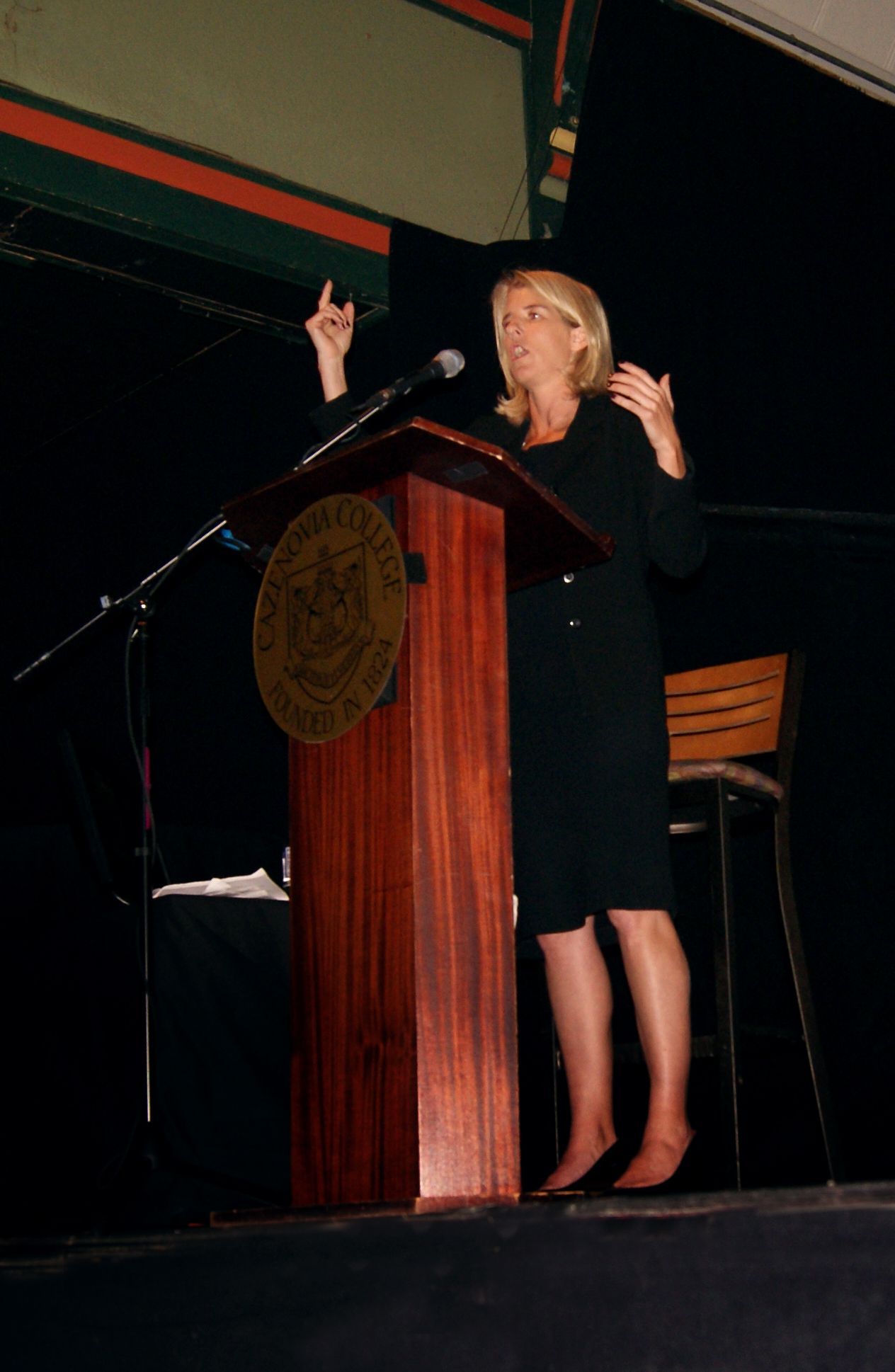 This year's spring Reisman Lecturer was Rory Kennedy, a well-known documentary filmmaker.