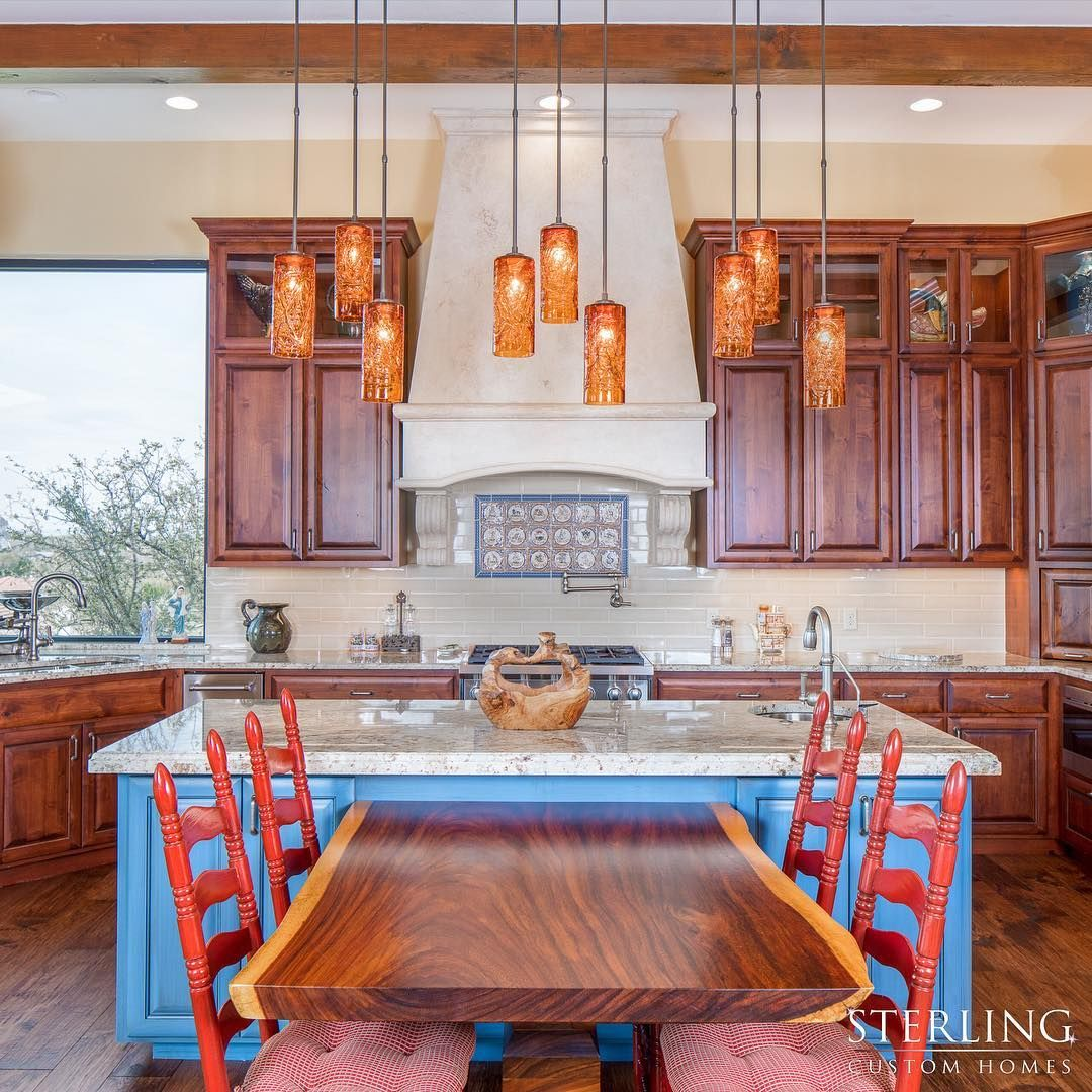 Beautiful Wood Cabinets And Detailing In This Custom Home We Call One Texas Hill Country Vista 4675 Know Kitchen Will Get You Through The