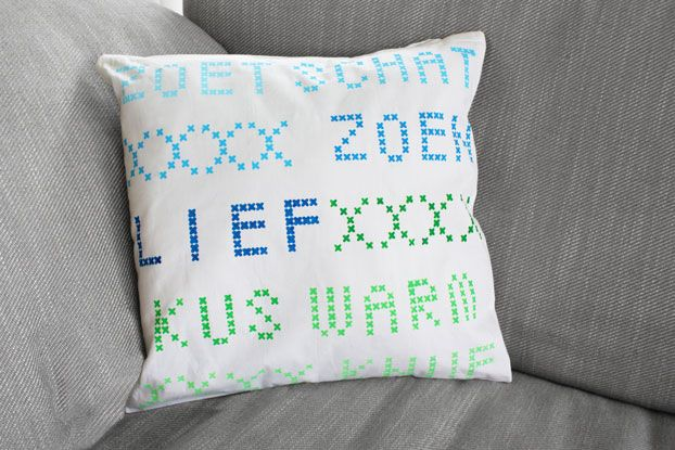 DIY package for pillow cases
