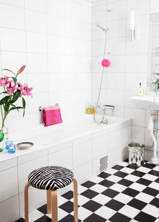 Aménagement salle de bains sans fenêtres- 30 idées supers | Salle de ...