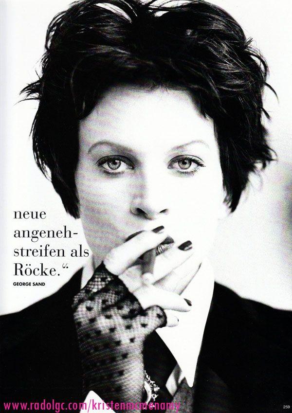 ☆ Kristen McMenamy | Photography by Arthur Elgort | For Vogue Magazine Germany | September 1993 ☆ #Kristen_McMenamy #Arthur_Elgort #Vogue #1993