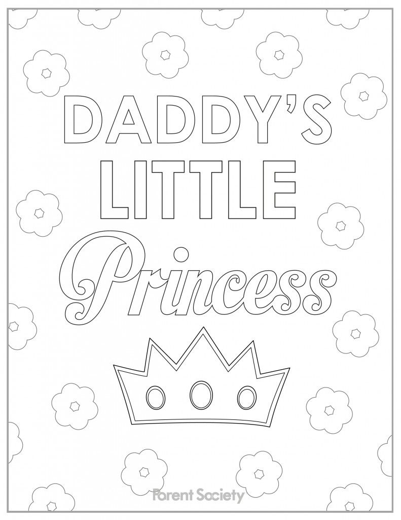 Fathers day printables coloring pages for kids fathers day