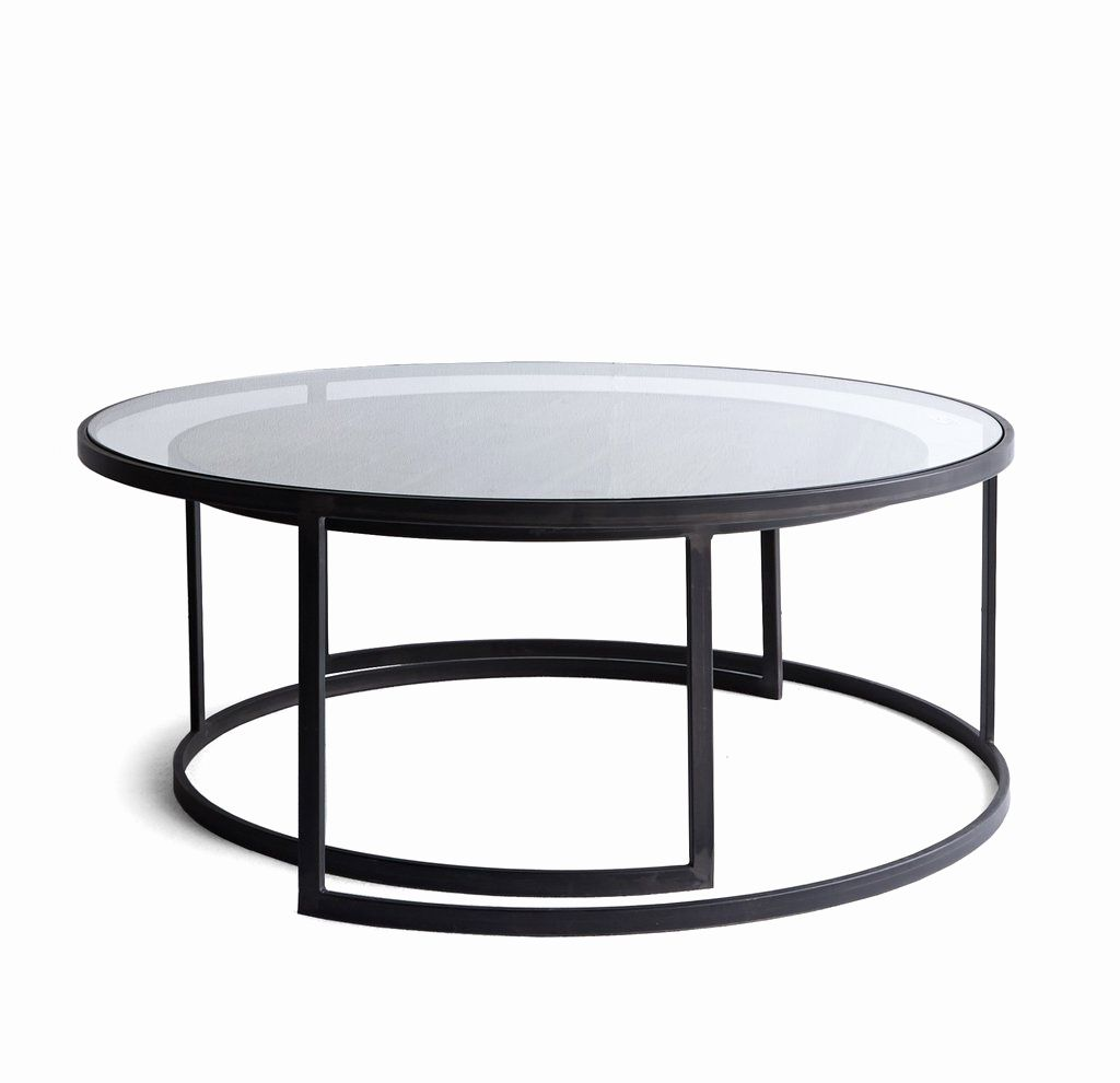 Chrome glass coffee table new nesting coffee tables