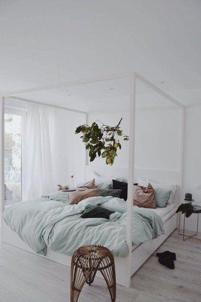 Die Trendfarbe Salbei in ihren schönsten Facetten Bedrooms, Room