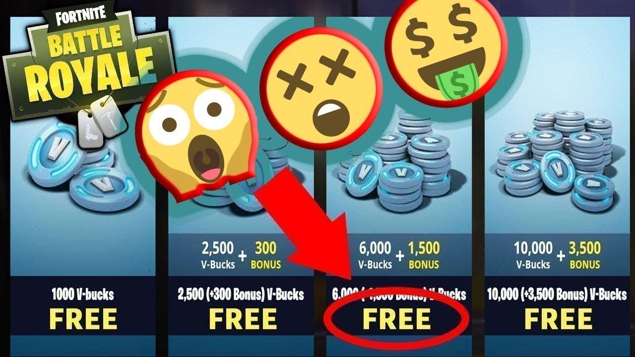 How to get free v bucks in fortnite FREE v bucks generator