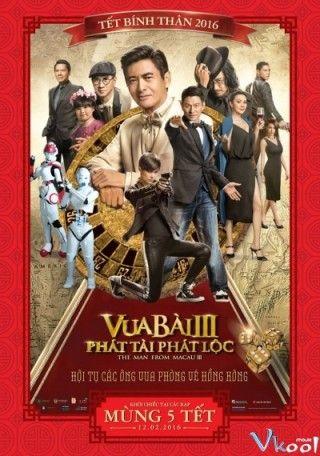 Thần Bài Macau 3 : Phát Lộc Phát Tài - HD