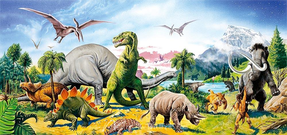 3D Dinosaur Wallpaper Personalized Custom Wall Murals