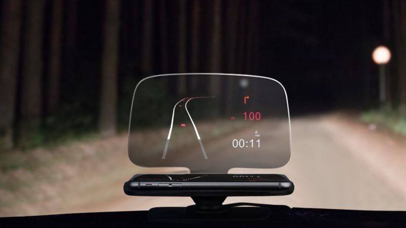 Mpow Universal Head Up Display Smartphone Navigation Digital Trends Head Up Display Mpow Auto Glass