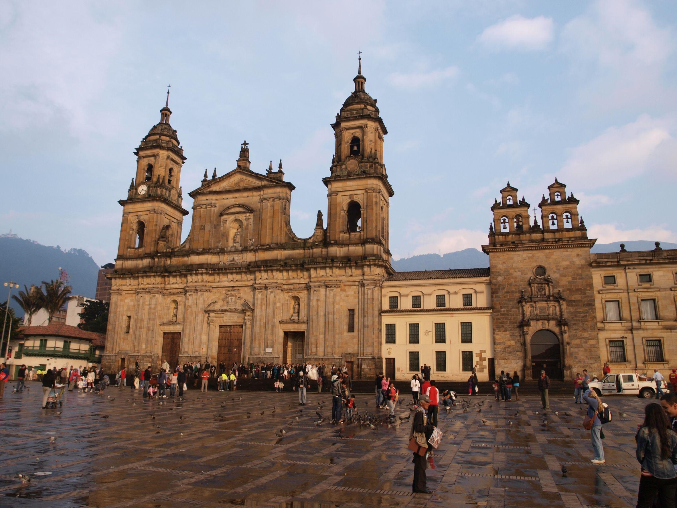 Plaza de Bolivar- Bolivar Square- Bogota