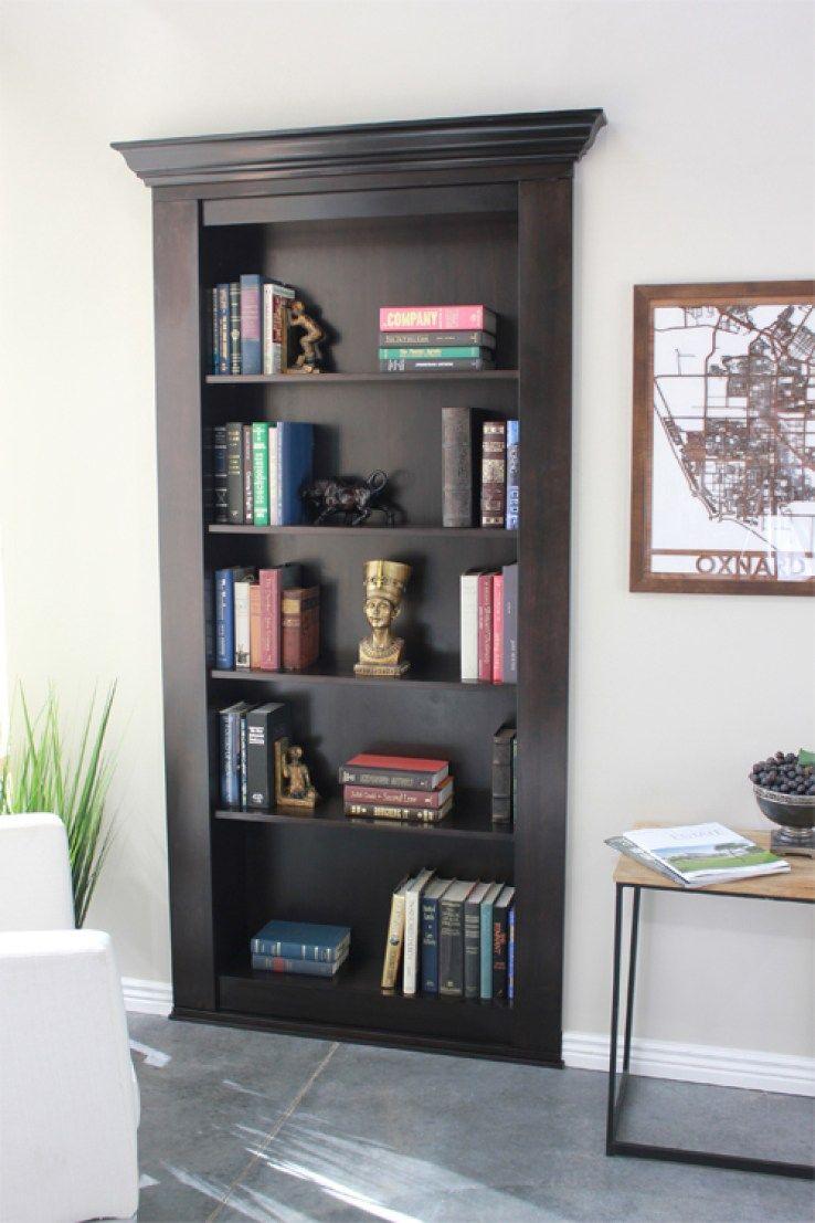 Secret Bookcase Door Buy Now Secure Hidden Hidden Door