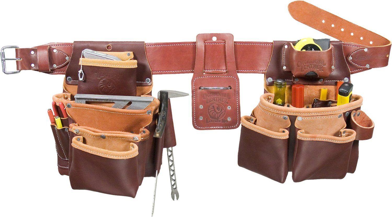 White apron amazon.ca - Occidental Leather 5089 M Seven Bag Framer Tool Belt Medium Amazon Ca