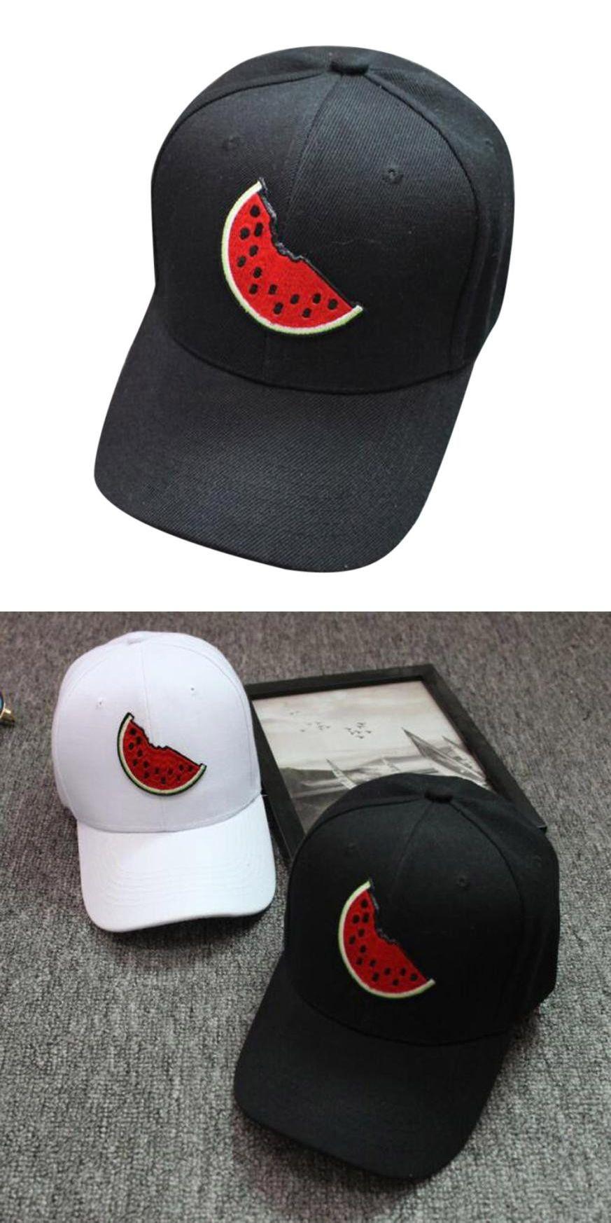 65bd614aaf1 2017 New Style Unisex Snapback Watermelon Hats Hip-Hop Adjustable Hat  Baseball Cap womens baseball