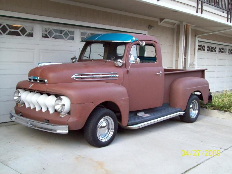 Windshield Visor Ford Truck Enthusiasts Forums 1952 Ford Truck Classic Pickup Trucks Vintage Pickup Trucks