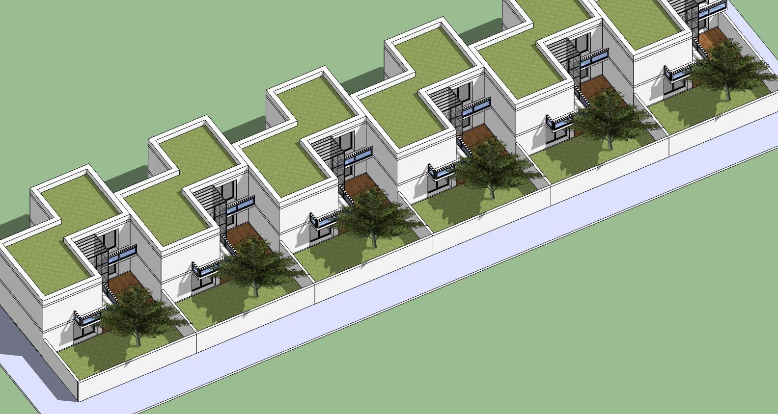 Cout construction maison jumelee maison moderne Maison jumelee