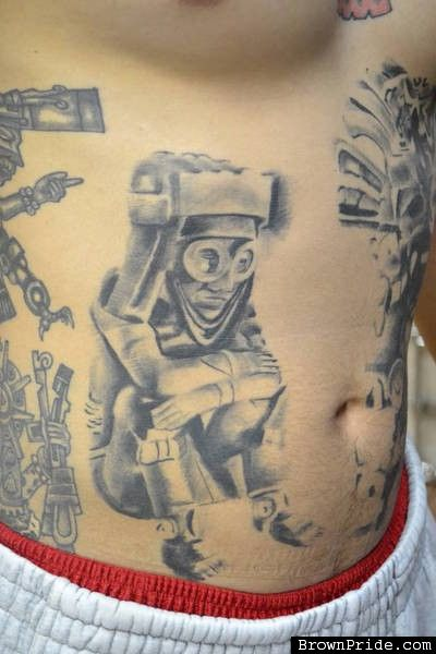 Tlaloc By Tattoo Mike