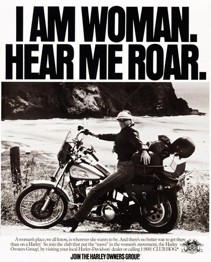 Harley Has What Women Want   bikes   Women motorcycle quotes, Biker