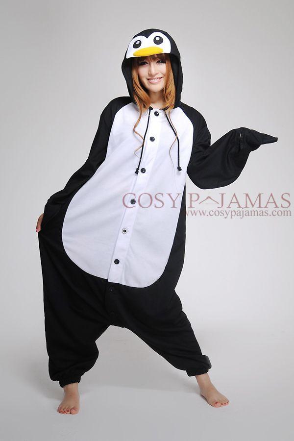 Animal Onesies Madagascar Penguin Adult Onesie Kigurumi Things Id