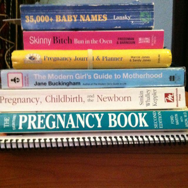 My baby books!
