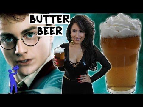 How to make Butter Beer - Tipsy Bartender - YouTube