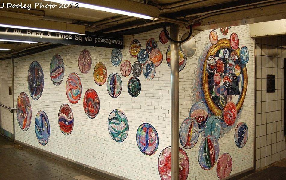 Photo Gallery Chicago Mosaic School Nyc subway art