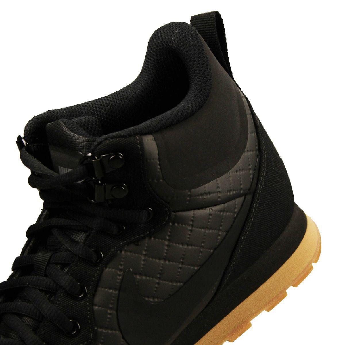 Sportowe Meskie Nike Buty Nike Md Runner Mid Prem M 844864 006 Czarne Black Shoes Black Nikes Mens Nike Shoes