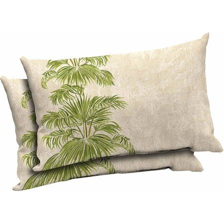 Genial Mainstays Outdoor Patio Lumbar Pillow, Set Of 2   Walmart.com