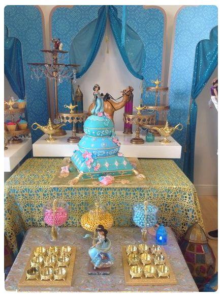 Princess Jasmine Party Jasmine Birthday Princess Jasmine Party Jasmine Party