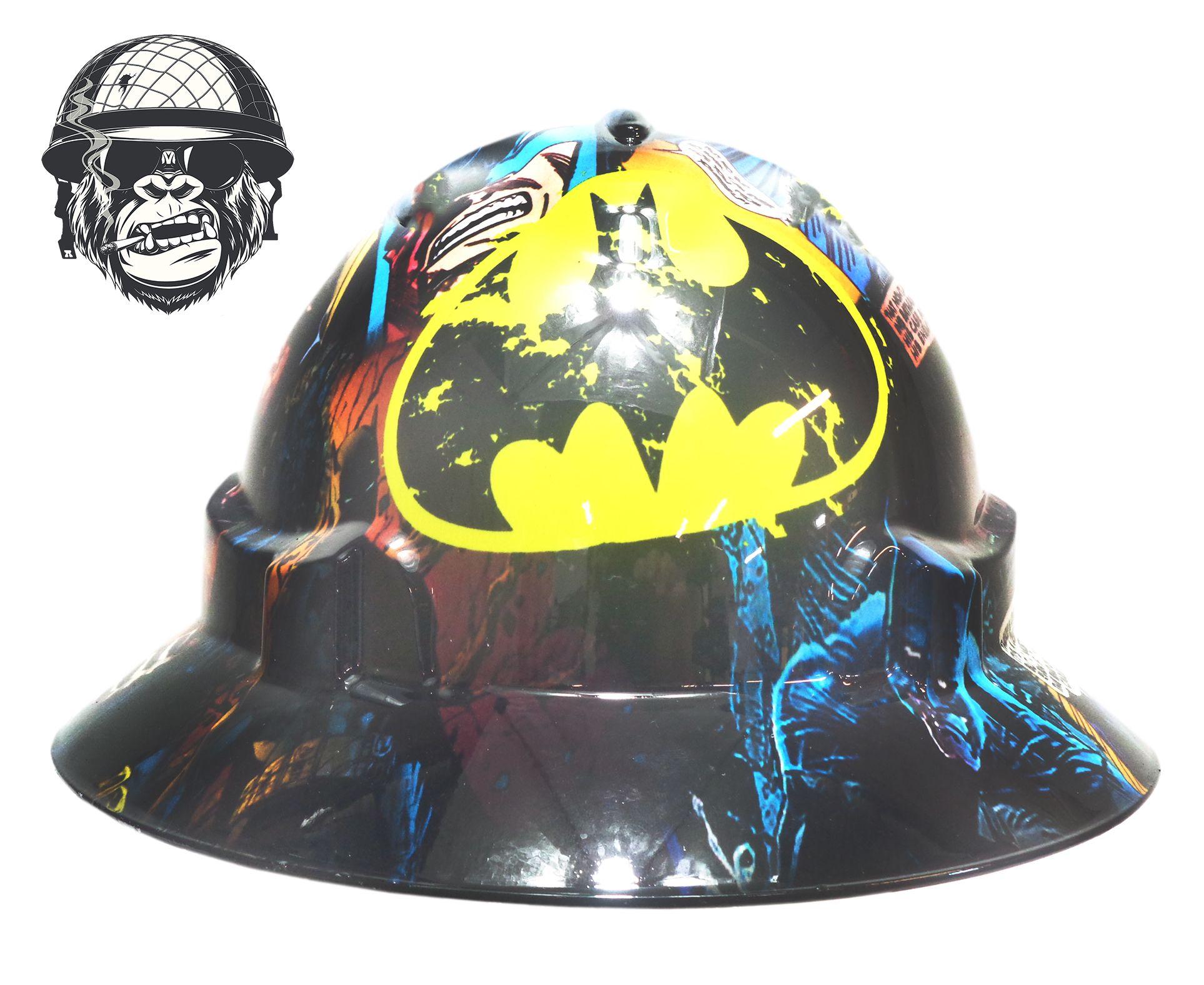 Batman super hero comic custom hydrographic safety cool