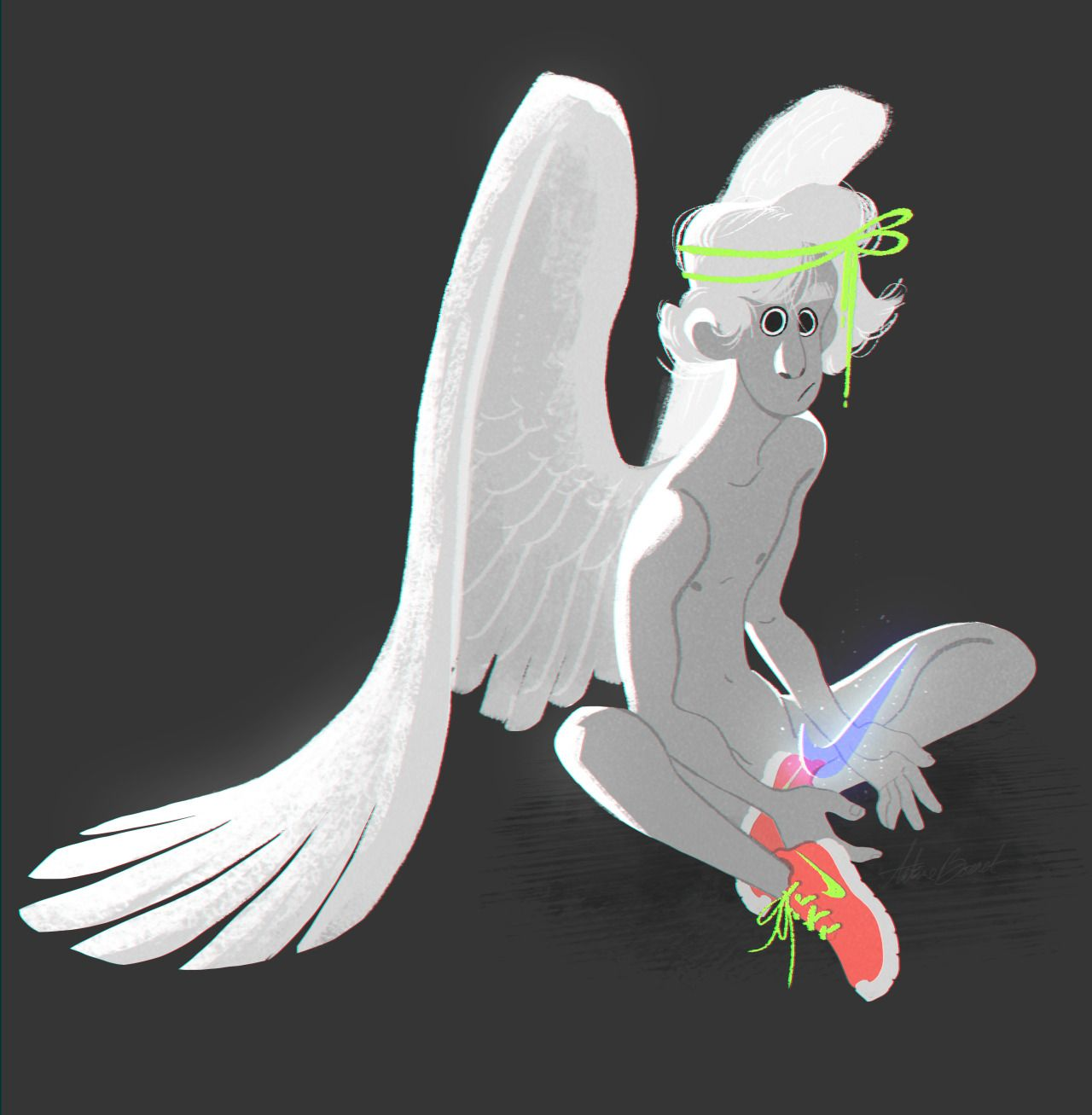 """timeless design 6b903 91b8d NIKE Le saviez-vous  Le logo Nike, couramment surnommé """"Swoosh"""","""